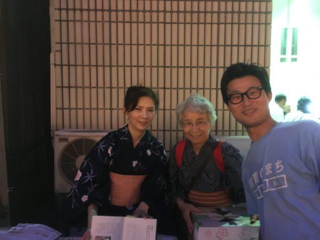 その後、お祭りで永井さんと再会。隆祥館書店の二村さんもご紹介頂きました。